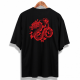 Oversize Red Dragon Unisex T-Shirt
