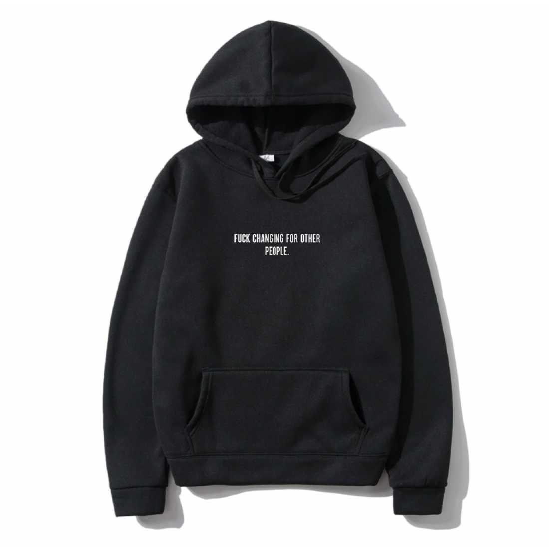 Oversize Shout Fuck Changing For Other People Unisex Hoodie