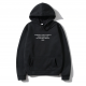 Oversize Shout Nobody Cares About Unisex Hoodie