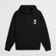 Oversize Shout Came In Peace Oldschool Unisex Hoodie