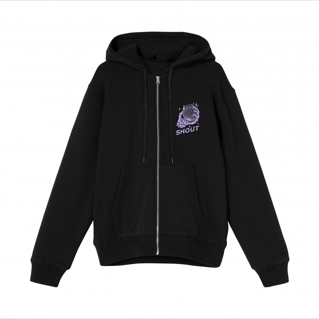 Shout Oversize Beyond The Epic Universe Unisex Zip Up Hoodie