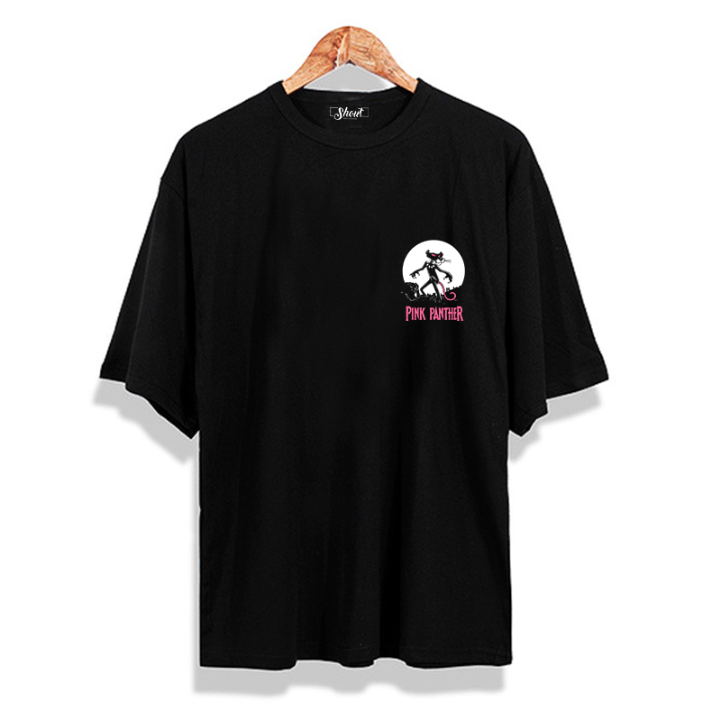 Oversize Pink Panther Oldschool Unisex T-Shirt