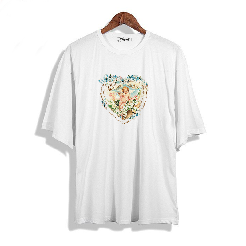 Oversize With Love and Devotion Vintage Unisex T-Shirt