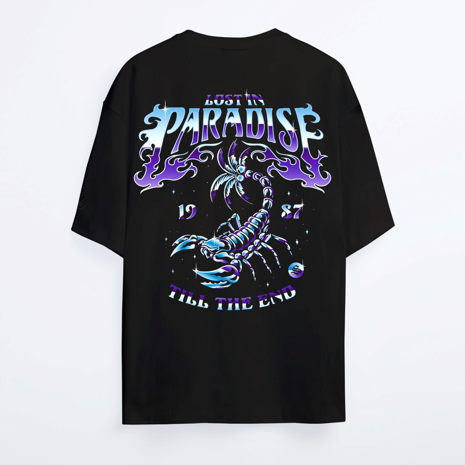 Oversize Shout Limited Edition Lost In Paradise Unisex T-Shirt